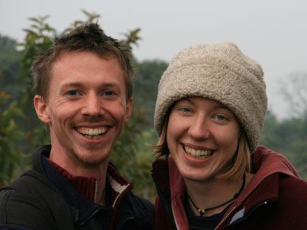 Jonathan and Rebecca
