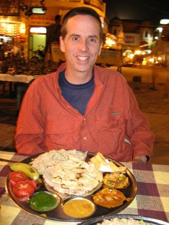 Fancy Plate of Thali