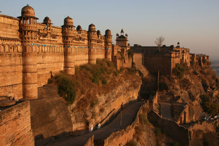 Gwalior Fort East Side