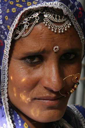 Woman in Nagaur, Rajasthan