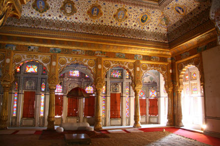 Phool Mahal in Meherangarh Fort, Jodhpur