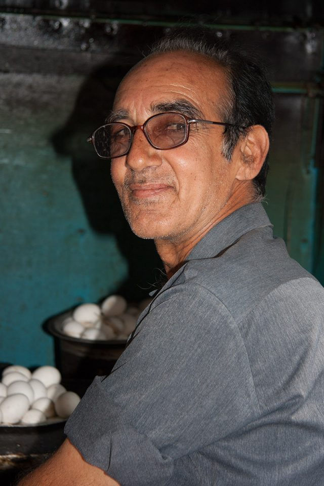 Omelette man in Jodhpur