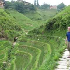 Tony Explores Long Ji Rice Terraces in China