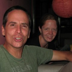 Tony and Kat in Rishikesh