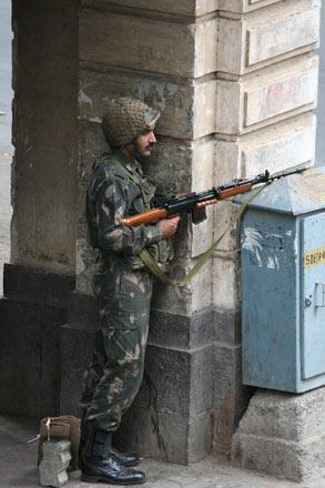 During Mumbai Attack