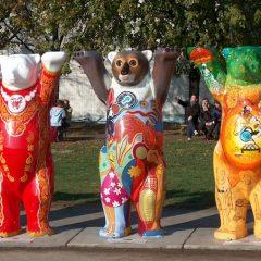 Berlin Bear Statues