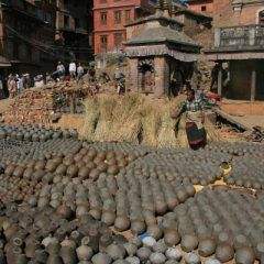 Bhaktapur Potter's Square
