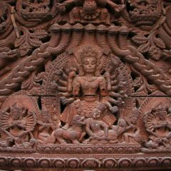 Hindu Temple Carvings