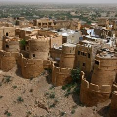 The Desert City of Jaisalmer