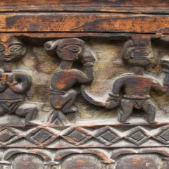 Kinnaur Temple Carving