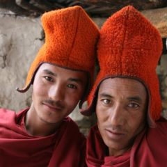 Phuktal Monks