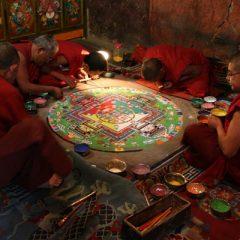 Thiksey Sand Mandala
