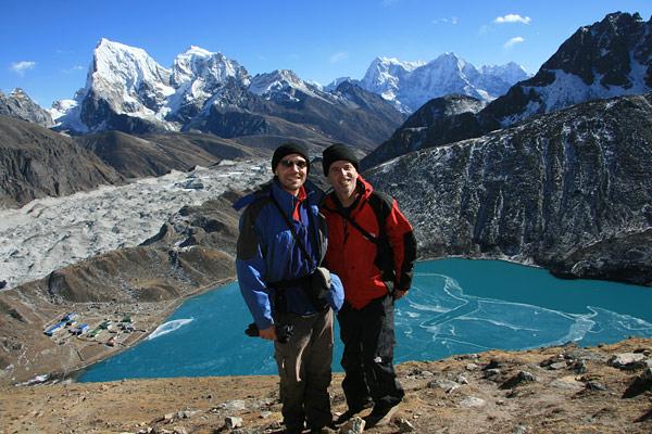 TnT in Gokyo Valley, Nepal
