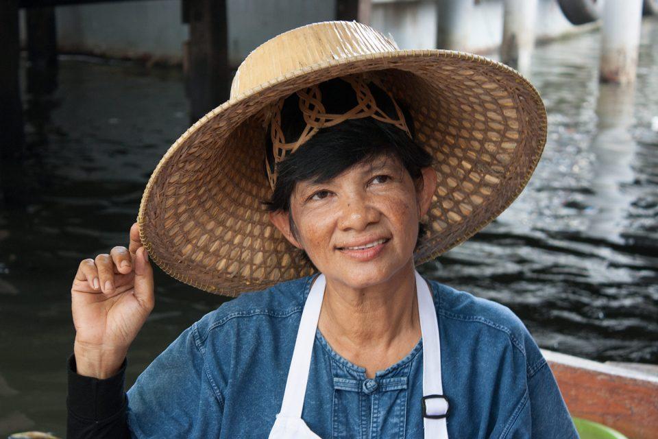 Lady at Taling Chan