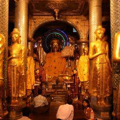 Shwe Dagon Buddhas