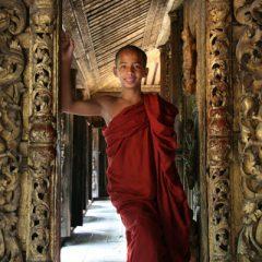 Shwenandaw Kyaung Novice