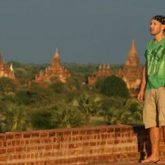 Thomas in Bagan