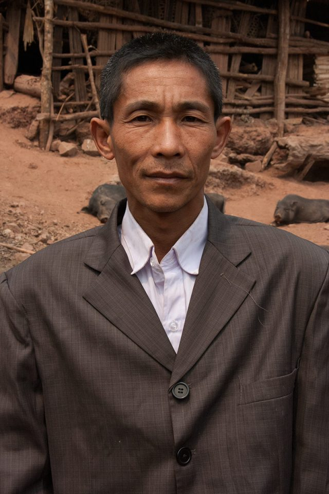 Akha village chief