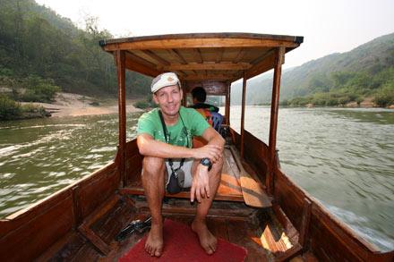 Thomas on the Nam Ou River