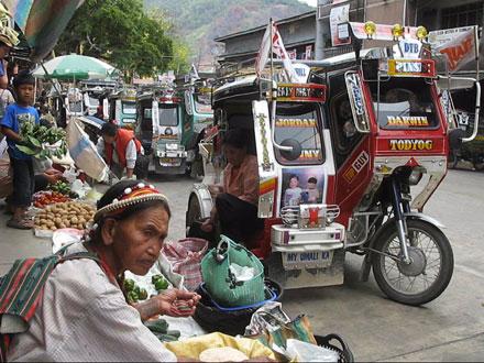 Bontoc Woman Shopping