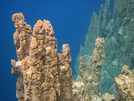 The Blue Waters of Barracuda Lake, Coron Island