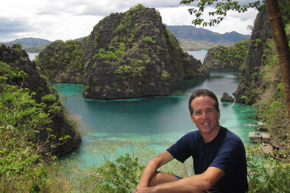 Tony on Coron Island