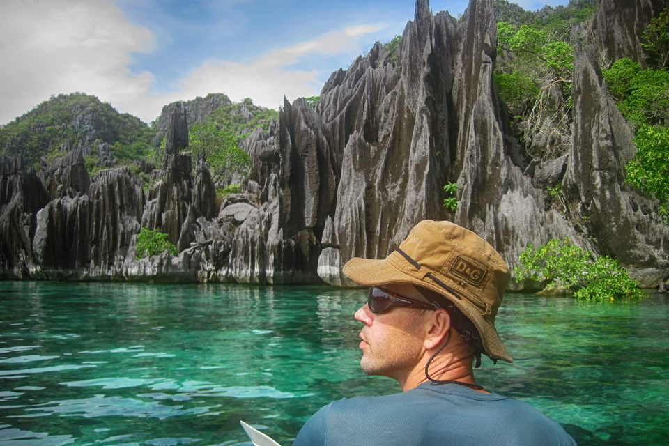 Thomas Kayaks near Coron Island