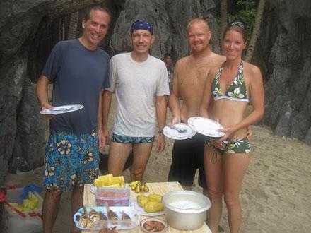 Tony, Thomas, Olof, and Elin