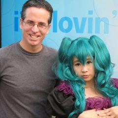 Tony with Manga Fan
