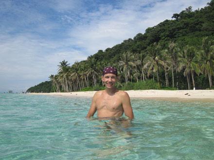 Puka Beach on Boracay