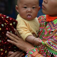 flower-hmong-baby