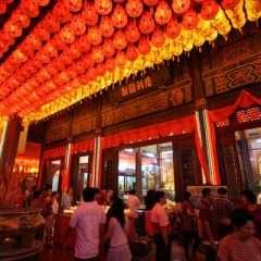 Kek Lok Si at Chinese New Year