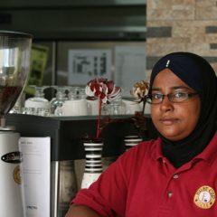 Malay Woman Coffee House