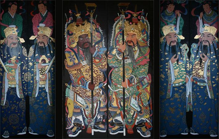 Teochew Temple Door