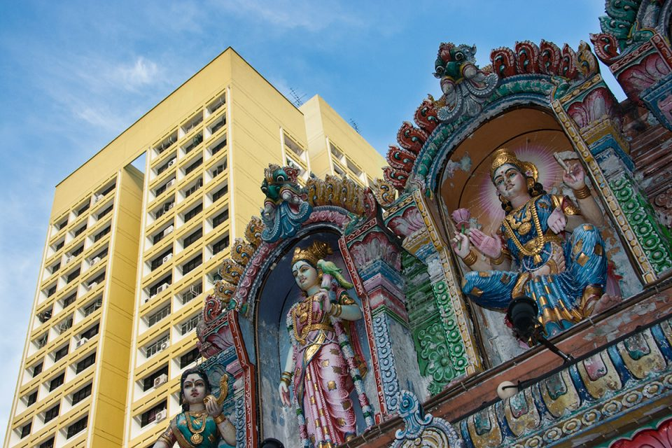 Indian Temple in Singapore