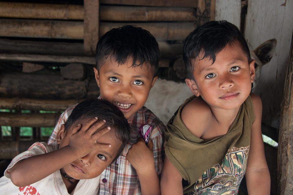 Kids in Sumba