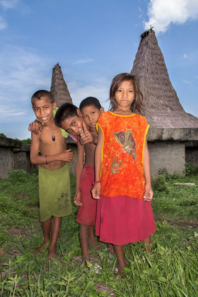Kids in Wainyapu, Sumba