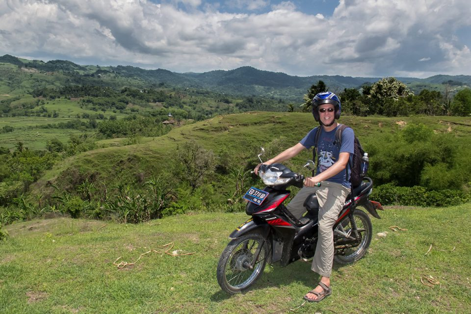 Riding through Sumba's Highlands