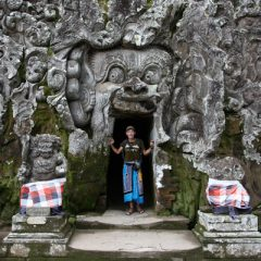 Thomas at Goa Gajah