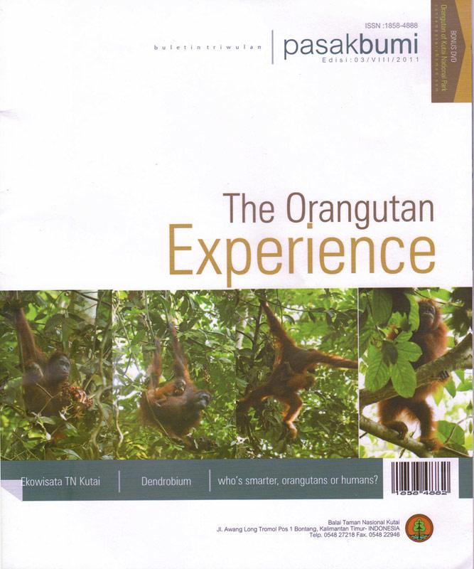 Orangutan Experience brochure
