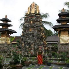 Thomas at Puri Saren Agung
