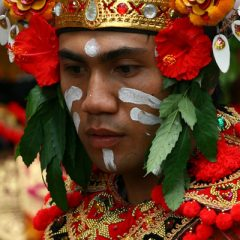 Man in Ubud Festival