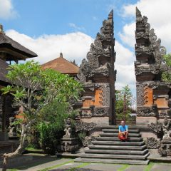 Local Temple in Ubud