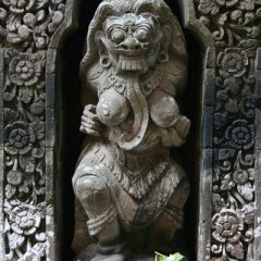 Stone Carving in Ubud Palace