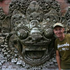 Thomas in Ubud Palace