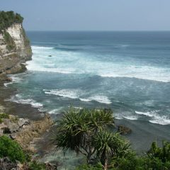 Cliffs in Uluwatu