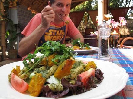 Captivating Om Garden Cafe