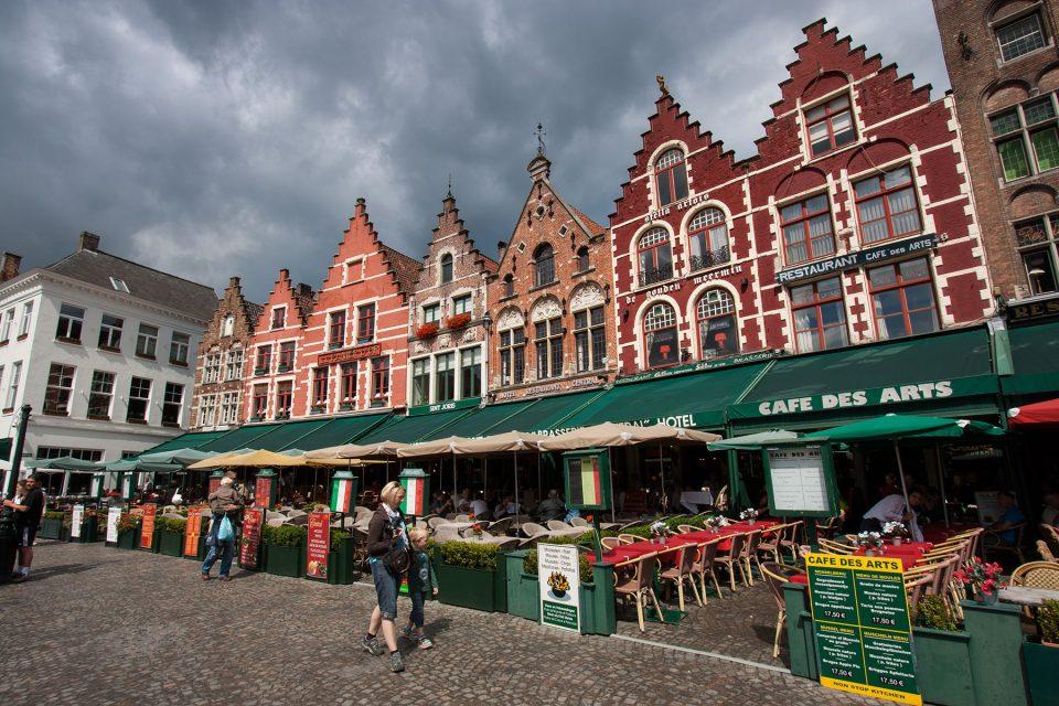 Grote Markt in Bruges
