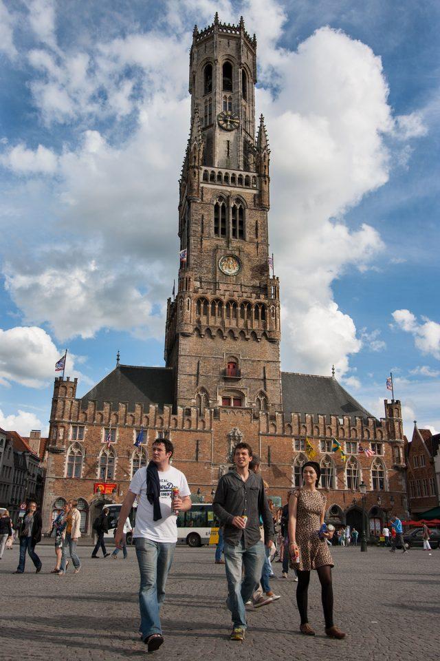Towering Belfry of Bruges