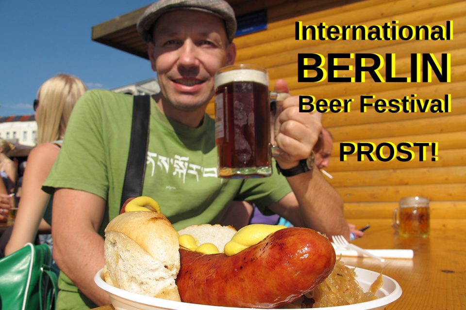 International Berlin Beer Festival: Beer and Polish Sausage